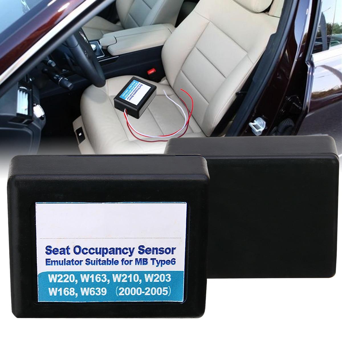 מערכות ניווט GPS 1PC רכב סיאט תפוסה מקצוע חיישן SRS Emulator עבור מרצדס בנץ Type6 W220 W163 W210 W168 W639 00-05 אביזרים לרכב (2)
