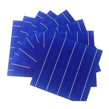 20 قطعة 90 واط 157 مللي متر كفاءة الضوئية متعدد البلورات خلية شمسية سليكونية الأسعار رخيصة الصف أ لتقوم بها بنفسك PV لوح شمسي رخيص