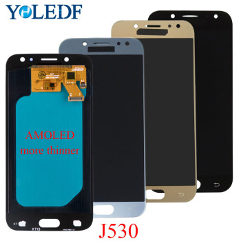 Super AMOLED LCD For SAMSUNG Galaxy J5 Pro 2017 J530 J530F J530FM LCD Display Touch Screen Panel LCD Pantalla Replacement Part factory quality ips lcd display 7 85 for supra m847g internal lcd screen monitor panel 1024x768 replacement
