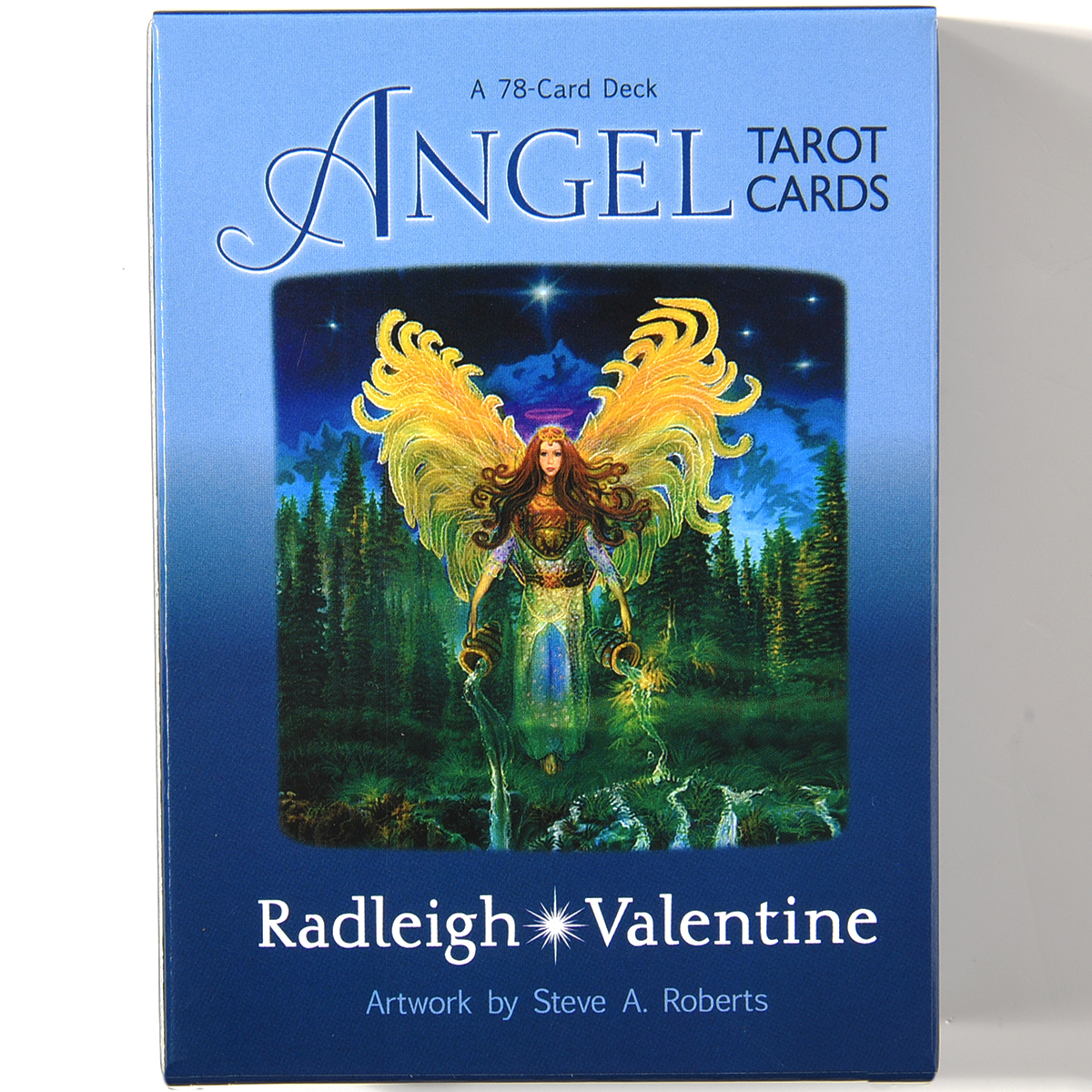Angel Tarot Cards A 78-Card Deck AndGuidebook Tarot Oracle Game By Doreen Virtue Radleigh Valentine Complete