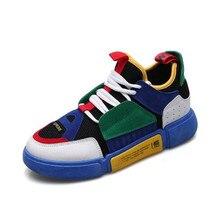 Yeni erkek sonbahar ve kış açık ayakkabı yürüyüş yürüyüş ayakkabısı moda renk eşleştirme ayakkabılar günlük ayakkabılar kaymaz erkek ayakkabıları