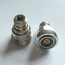 Adaptador 7/16 DIN L29 hembra a N hembra, conector de Cable, conector n-din L29, adaptadores RF coaxiales rectos de latón, 1 Uds.