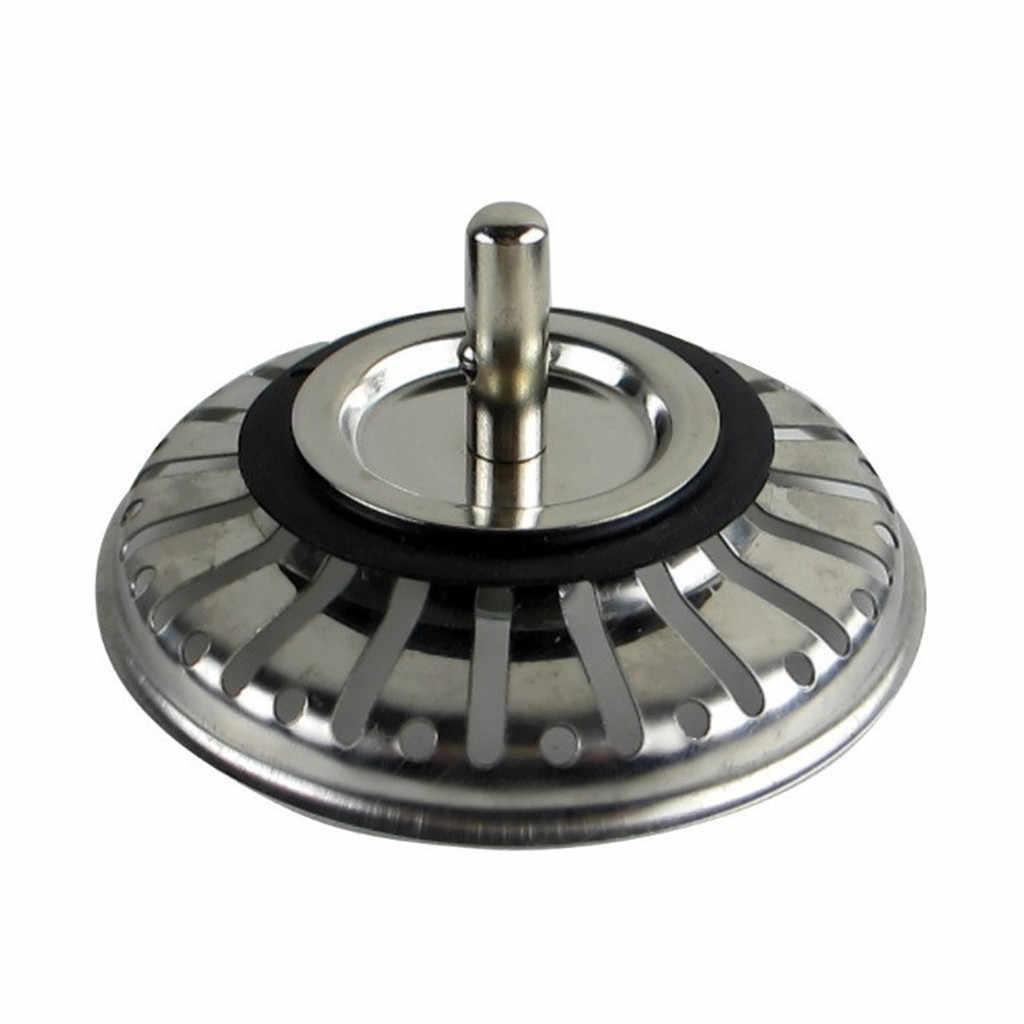 Mutfak drenaj anti-engelleme paslanmaz çelik havuz lavabo kanalizasyon filtresi mutfak banyo saç Catcher drenaj süzgeçler 19SEP25
