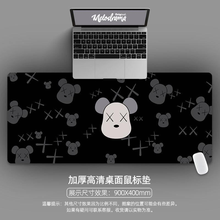 Peripheral-Accessories Mouse-Pad Gaming Cute Desk-Mat Gamer Computer Large Cartoon