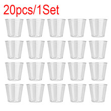 Disposable Cup Tumbler Glass Drinking-Glas Birthday-Party Hard-Plastic Small Jelly-Cup