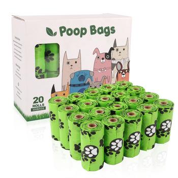 Torba na odchody psa biodegradowalna torba na odchody psa przyjazny dla środowiska woreczek na zwierzęce odchody do czyszczenia woreczek na zwierzęce odchody 300 torebek tanie i dobre opinie Pooper Scoopers i Torby CN (pochodzenie) 20rolls pick up dog poop
