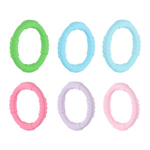 Image 3 - 3 sztuk ząbkowanie bransoletka dla dzieci silikonowa bransoletka typu Bangle dla dzieci dla dzieci do karmienia opaska na nadgarstek gryzak biżuteria przypominająca jedzenie klasy silikonowe BPA darmo
