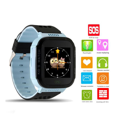 Kids Smart Watch Children Phone GPS Tracker Smartwatch Camera Flashlight SOS Call Location Toys For Baby Boys Girls Birthday Gif
