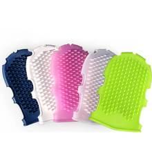Силиконовые душ щетки массажные перчатки силиконовая щетка для