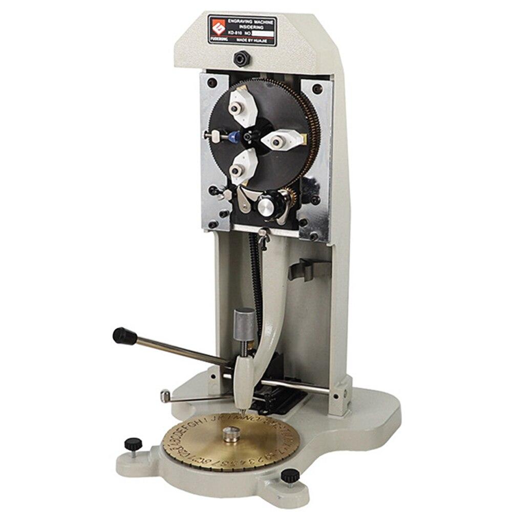 Hand Operate Inside Ring Engraving Machine, Jewelry Engraving Machine Marking On Ring Letters & Number, Metal Ring Engraver