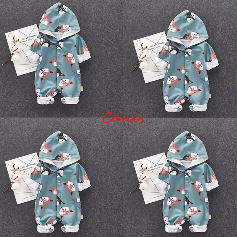 autumn newborn baby boy clothing set baby girls clothes baby outfits Bodysuit Hat Outfits Set cotton cloud printing in Clothing Sets from Mother Kids