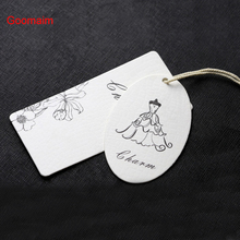 Custom Clothing Hang Tags Women's Underwear Home Textiles Leather Goods Certificate Of Quality Coated Paper Fabric Cards