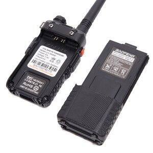 Image 5 - Baofeng UV 5R 8W talkie walkie puissant 3800 mAh 10km 50km longue portée UV5r double bande bidirectionnelle cb radio ar 152 antenne tactique