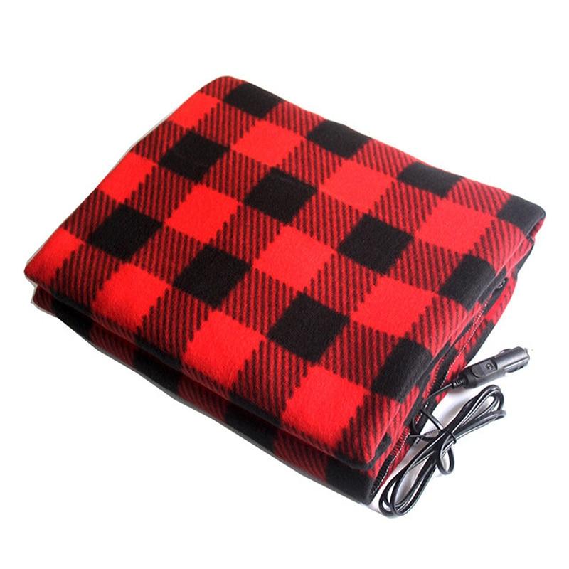150 * 110 Cm Car Electric Blanket, 12 V Heating In Winter, Energy-saving Warm Car Electric Blanket, Thermostatic Car