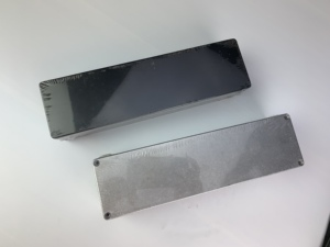 1 piece Silver/White/Black color aluminum housing case 1032L 254*71*52.5mm(China)