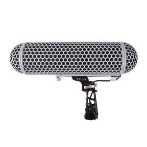 Image 2 - Mikrofon rüzgar korumak kafes cam şok dağı süspansiyon sistemi RODE mikrofonlar HD ses koleksiyonu VS yol BLIMP