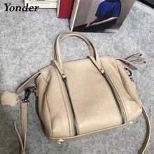 Real cowhide leather hand bag women's handbag genuine leathe