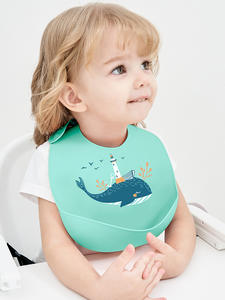 Baby Bibs Aprons Saliva-Towel Adjustable Newborn Silicone Waterproof Cartoon Different-Styles