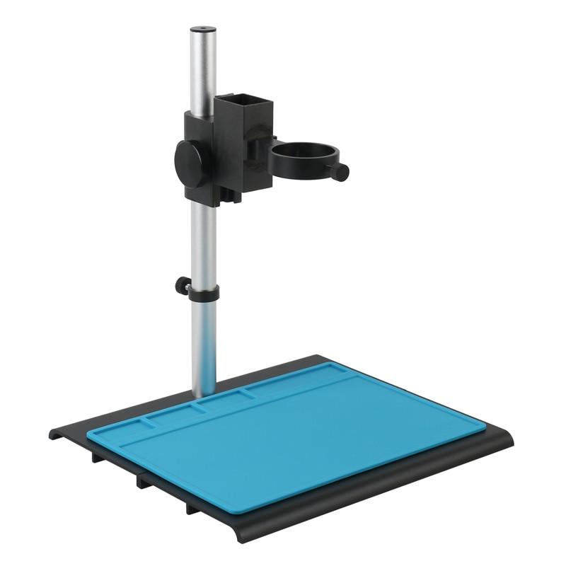 Tools : Aluminum Alloy Adjustable Focusing Bracket Focusing Holder Table Stand 40mm 50mm For Digital HDMI USB Video Microscope Camera
