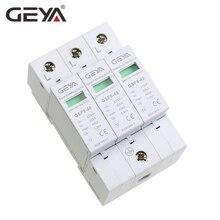 цена на GEYA GSP8-3P Electric Surge Protector 275V 385V 400V 440V 40KA SPD House Surge Protector EU