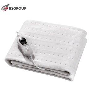 Image 2 - 220V   240V 60W 150*80CM włóknina przenośny zmywalny elektryczny podgrzewacz termiczny podgrzewacz łóżko pojedyncze rozmiar 3 ciepła ue wtyczka