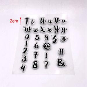 Image 3 - เครื่องมือเค้กตัวอักษรใหม่ upcase จำนวนตัวอักษร cookie cutter embosser แสตมป์ sticky ตกแต่ง fondant cutter เครื่องมือ sugarcraft