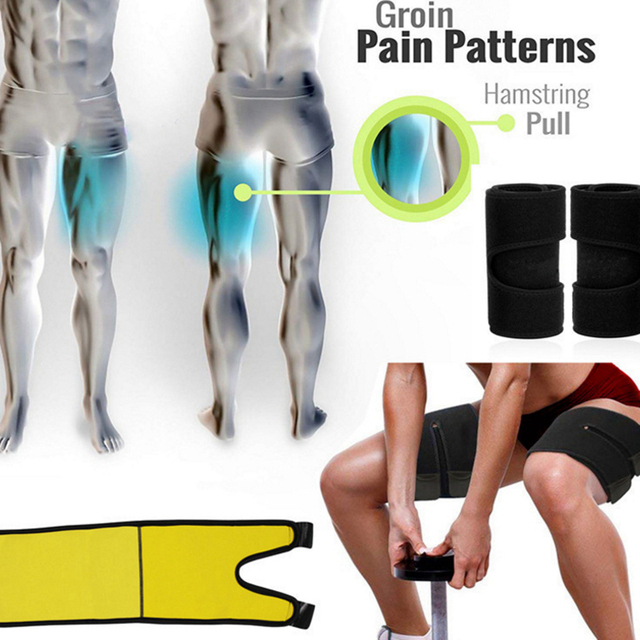 Slim Thigh Trimmer Leg Shapers Slender Slimming Belt Neoprene Sweat Shapewear Toned Muscles Band Thigh Slimmer Wrap 2