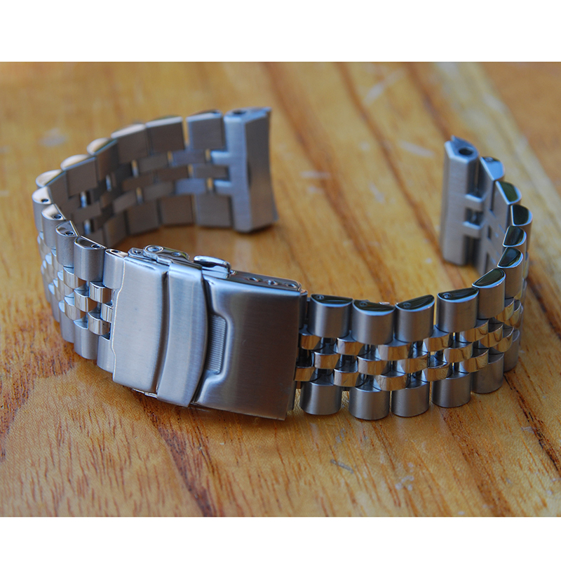 Replacement Watch Band Strap For 22mm Seiko Turtles Prospex SRP773 , SRP775 SRP777 SRP779 And PAD Stainless Steel Bracelet