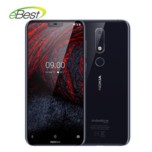 Nokia 6.1 Plus  Android 4G Mobile Phone 5.8″ FHD+ 4GB 64GB  Snapdragon 636 Octa Core Fingerprint Smartphone