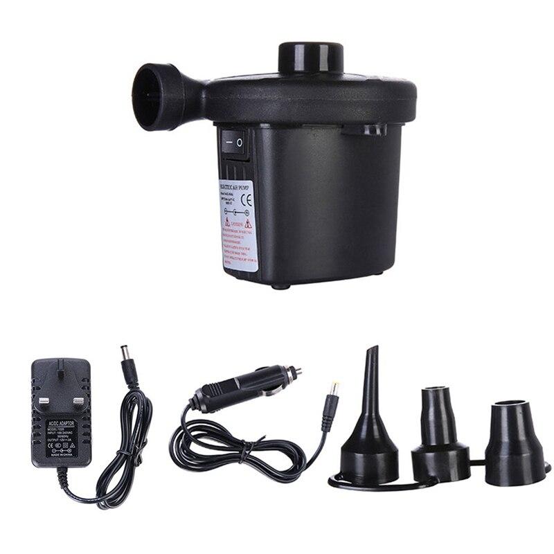 Авто прикуриватель AC 12 В автомобиль электрический для кемпинга надувной воздушный насос надувной лодочный насос для матраса DC