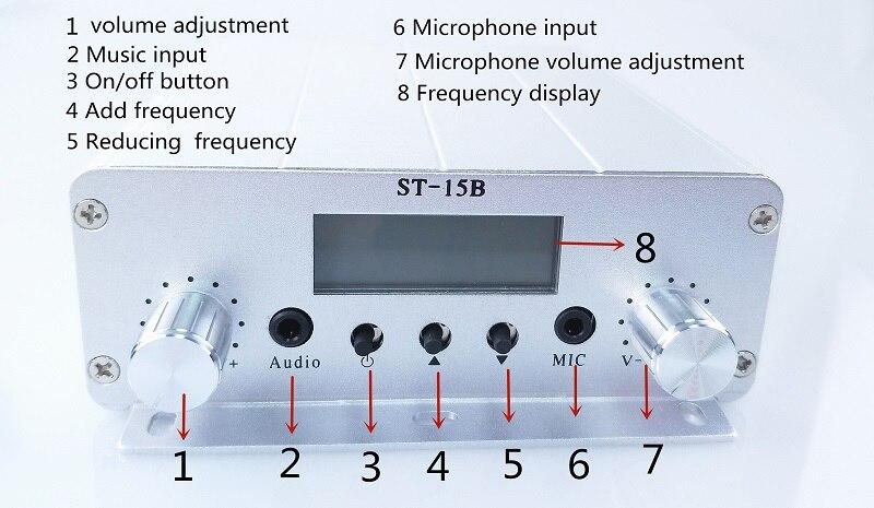 15W FM transmitter -2