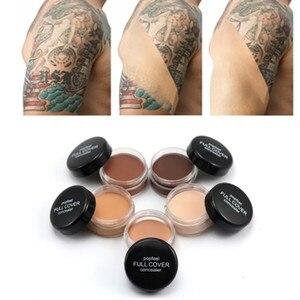 Hide Blemish Face Eye Lip Cream Concealer Makeup Foundation Professional Full Cover Contour Base Make Up Concealer Cream hot(China)