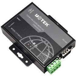 UT-6601H Ethernet TCP / IP to Rs232 / 485 Network Converter Serial Port to RJ45 485 Communication Lightning Protection