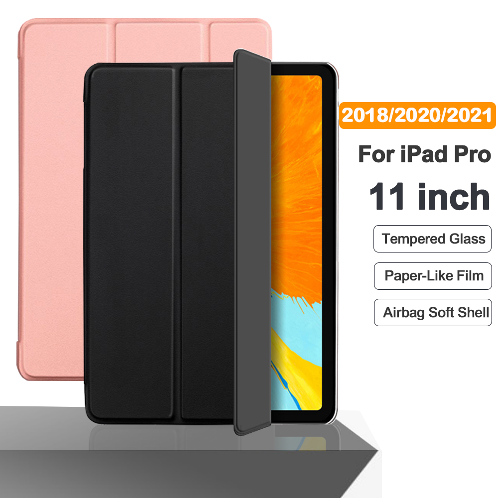 For iPad Pro 11 2021 2020 Flip Tablet Case Stand Smart Cover Funda For pro 11