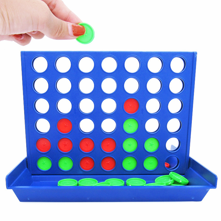 Home Indoors Connect 4 Game Classic Master Foldable Kids Children Line Up Row Board Puzzle Toys Gifts Board Game 4 In A Line