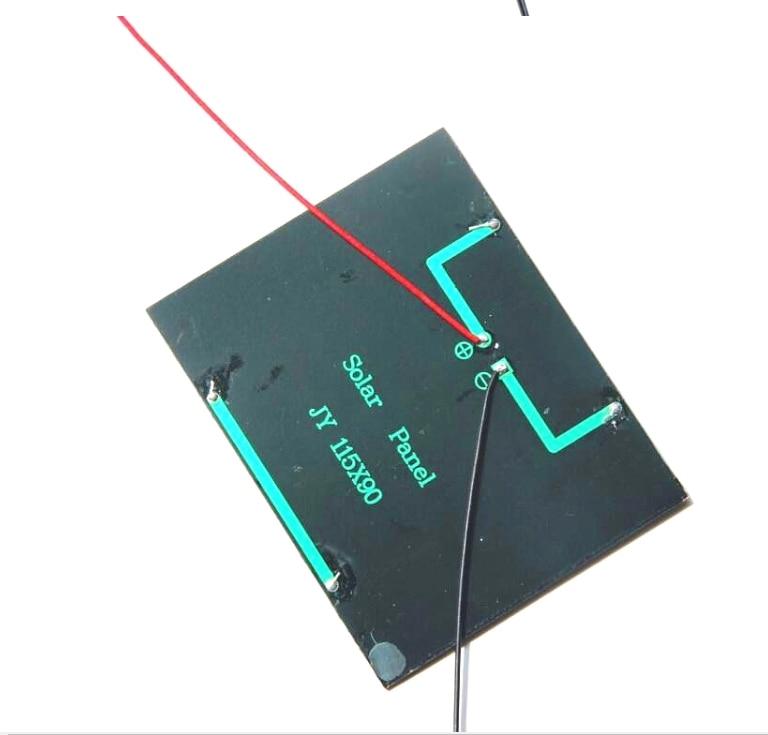 1.5w 12v módulo de célula solar policristalino