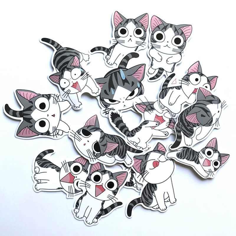 14 Pçs/lote Chi Sweet Home Adesivos de Anime Para Snowboard Decalque Laptop Bagagem Carro Frigorífico Carro-Styling Adesivo Pegatina