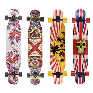 Image 5 - Planche à roulettes Longboard complète professionnelle, planche à roulettes Longboard, planche à roulettes en érable