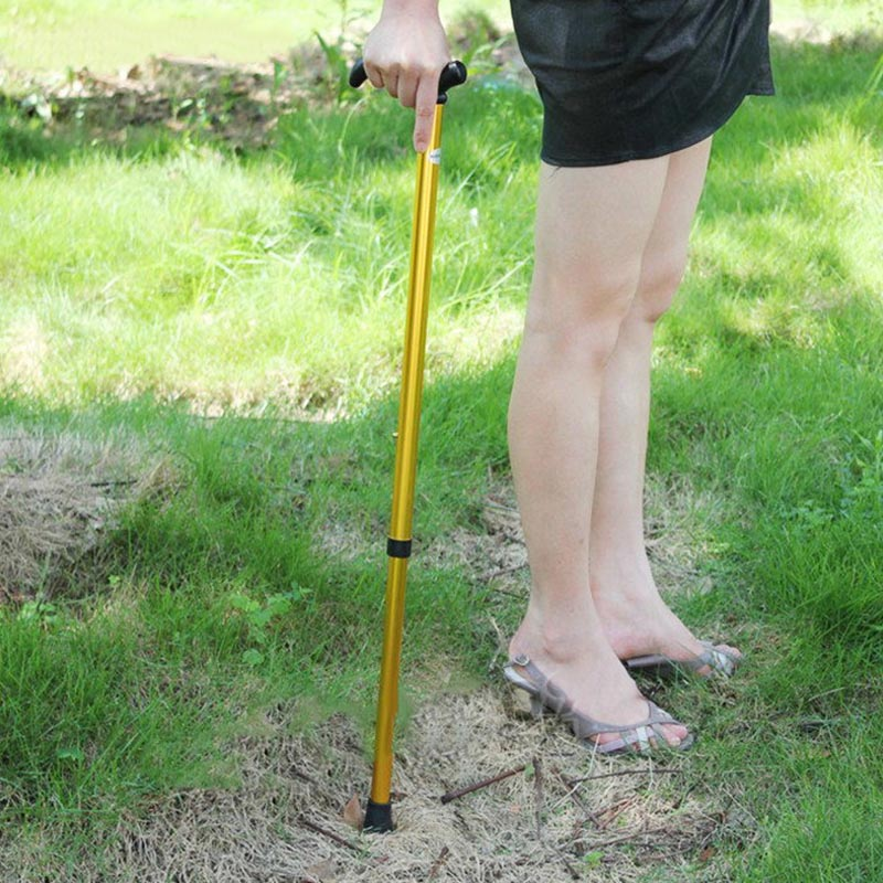 Best Hot Sale Telescopic Cane 2 Sections Hiking Tourism For Climbing Elderly Equipment TK-ing