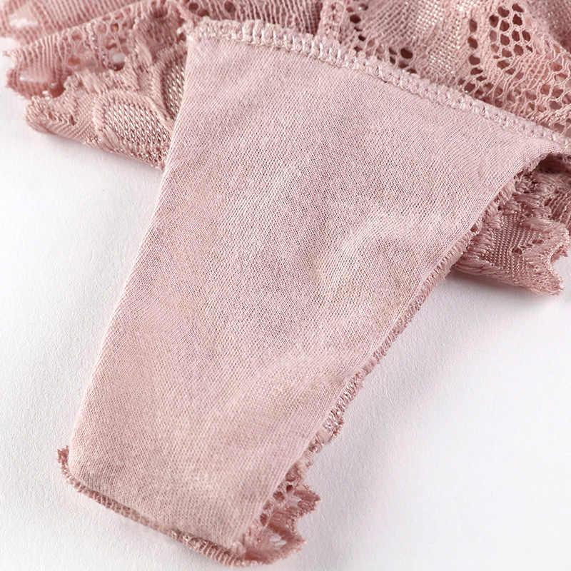 TERMEZY kadınlar seksi dantel iç çamaşırı G String günaha düşük bel külot şeffaf t-geri tanga iç çamaşırı kadın Knickers