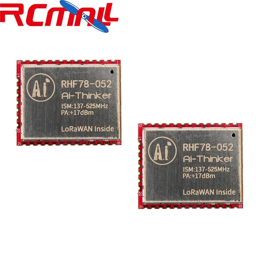 2Pcs/lot SX1278 HZRHF78-052 LoRa Module 433MHz 470MHz LoRaWAN Wifi Transceiver Module 15Km Long Range +17dBm FZ2854