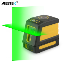 лучшая цена Laser Level Self-Leveling Horizontal and Vertical Cross Line Red/Green Beam Portable Mini Level Meter nivel laser 360 Two Line