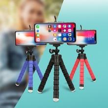 Octopus-Tripod Sponge SHOOT Gopro Mobile-Phone 7-Camera Huawei Xiaomi Flexible Mini Samsung