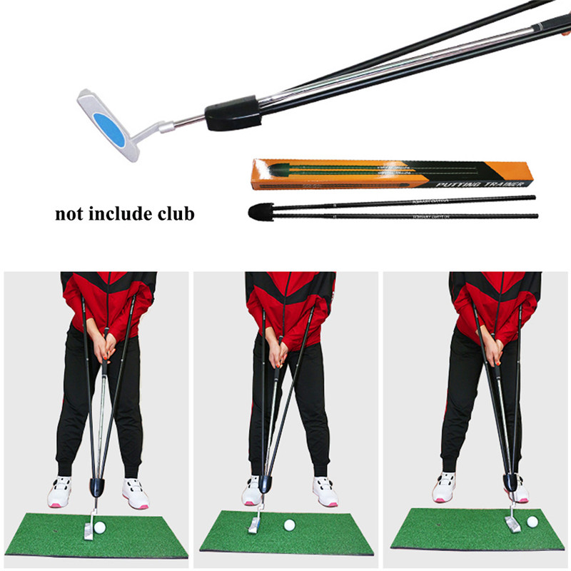 Golf Trainer Beginner Gesture Alignment Correction Training Aids Metal Correct Practical Practicing Guide