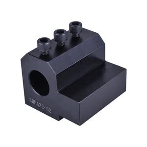 Image 3 - CNC Drehmaschine Innen Durchmesser Hilfs Werkzeug Halter Werkzeug Hülse Innere Loch Guide Hülse Multi funktion SBHA20/SBHA25