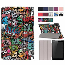 цена на PU Leather Case For Huawei MediaPad T5 JDN2-W09/AL00 8.0 Tablet stand cover for huawei mediapad T5 8 inch Case Fundas