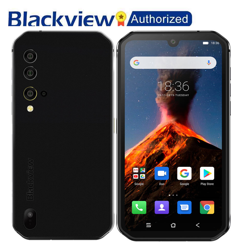 Blackview BV9900 Pro Thermal Camera Helio P90 Octa Core 8+128GB Rugged Mobile Phone 48MP Quad Camera NFC Smartphone Global 4G(China)