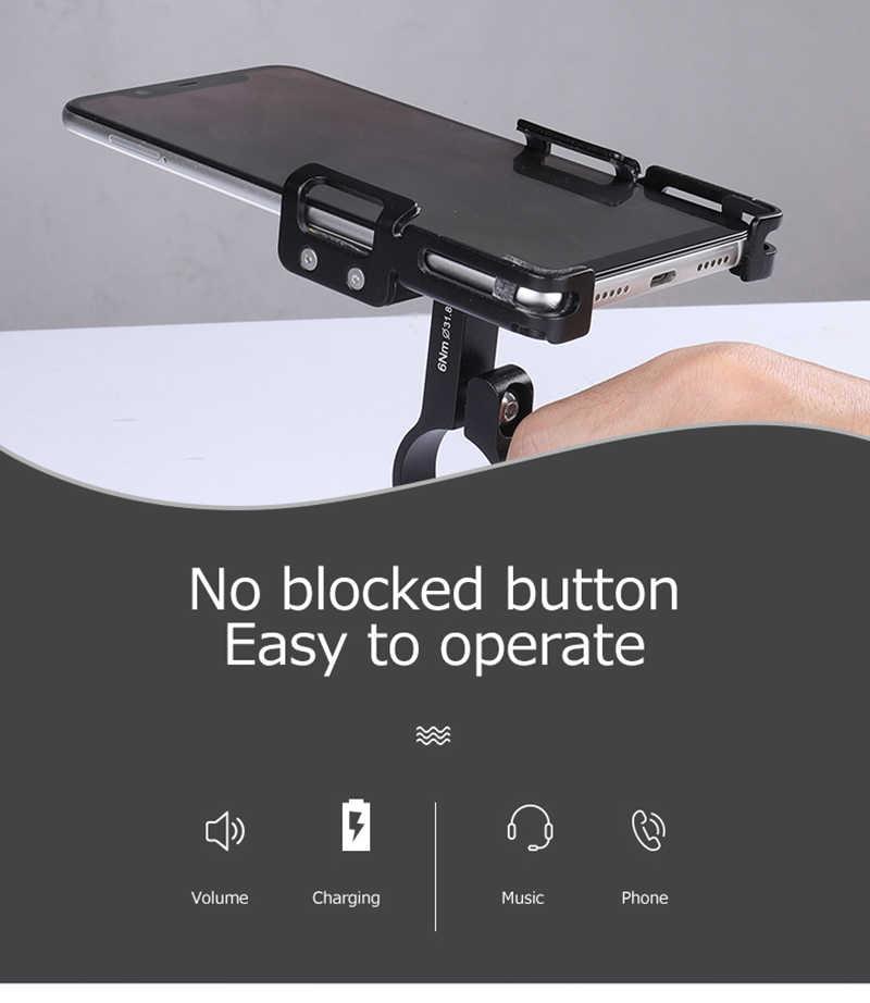 Универсальный велосипедный держатель для телефона GUB, 3,5-7,15 дюйма, поддержка смартфона, велосипедный нескользящий кронштейн для крепления на мотоцикле, велосипедный держатель для телефона