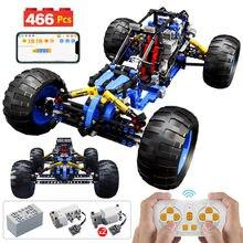 Cidade técnica rc off-road carro de corrida blocos de construção app programação controle remoto veículo caminhão tijolos brinquedo presente para crianças