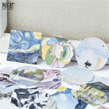 Stationery Sticker Kawaii Scrapbooking Decorative-Adhesive Art 1PCS Gallery Practical